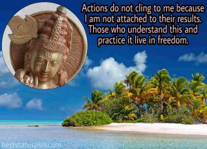 Lord krishna quotes about life with pic for Whatsapp