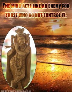 Shri krishna quotes on life with photo for Whatsapp DP