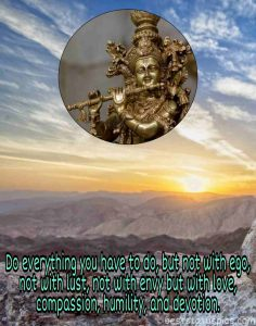 krishna quotes on life with image for Whatsapp DP