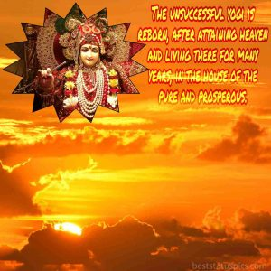 Life-changing quotes by shree Krishna with pic