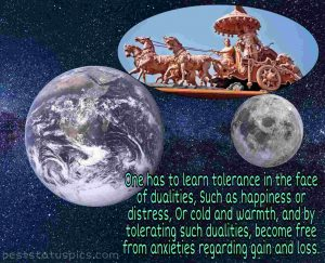 Life-changing quotes by lord Krishna with image