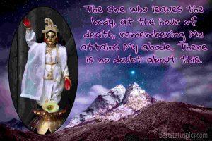 hare krishna status in english with image