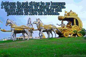 krishna attitude status in english photo