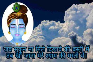 little krishna status image in hindi for whatsapp profile