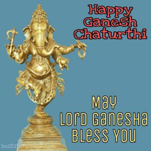 happy ganesh chaturthi 2020 photos with may lord ganesha bless you quotes