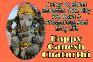 happy ganesh chaturthi 2020 wishes quotes, status, msg and sms with images