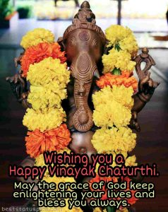 happy vinayaka chaturthi 2020 wishes, status, text, sms, and quotes with ganesha images