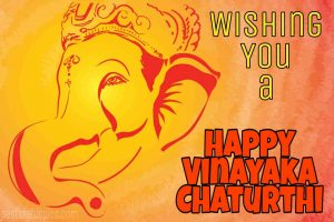happy vinayaka chaturthi 2020 wishes, status, card and quotes with lord ganesha pic