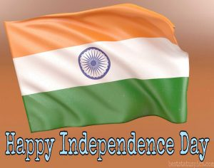 15 august happy independence day photo 2020 with flag india