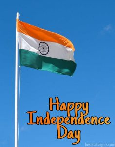 15 august happy independence day 2020 photo, image, dp with flag
