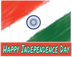 happy independence day 2020 flag drawing images for whatsapp profile