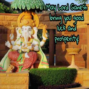 lord ganesha whatsapp dp status and quote with photo
