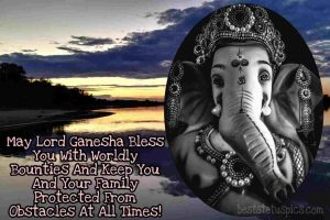 lord ganesha whatsapp dp in english with photo