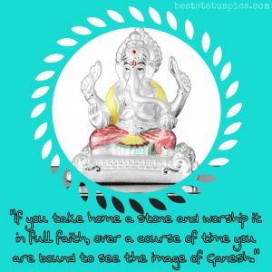 shri ganesh status download for whatsapp profile