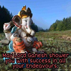 ganesha photos for whatsapp dp with english quote