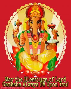 ganesh ji ke status for whatsapp dp