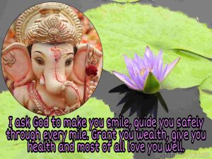 Lord ganesh whatsapp status in english with photo