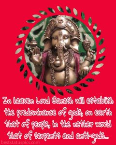 lord ganesha wallpaper whatsapp with status and quote