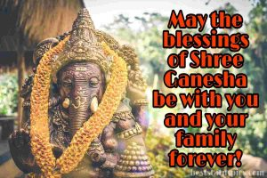 shree ganesha pics for whatsapp dp with quotes