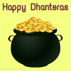 Best Happy Dhanteras 2021 Wishes Images HD, Quotes