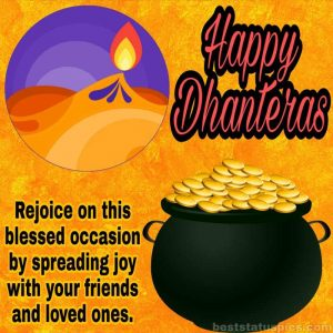 happy dhanteras 2020 wishes, quotes, status, images HD