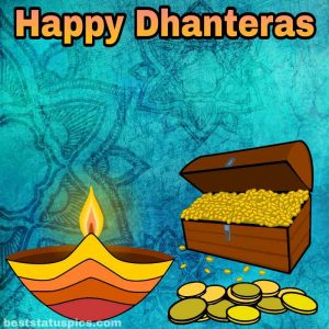 happy dhanteras 2021 quotes wishes in english with pic HD