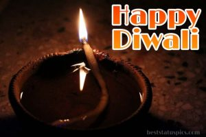 happy diwali 2021 wishes images HD with diya