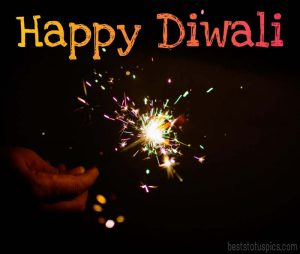 happy diwali 2021 fireworks images with wishes, quotes in english