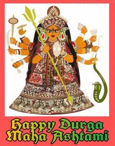 happy durga maha ashtami 2020 pics, images HD and greeting cards