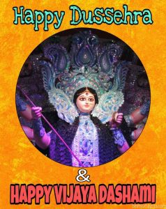 Happy subho Vijaya Dashami and happy dussehra 2020 wishes, greeting cards and images HD