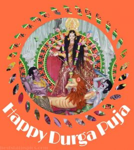 happy durga puja 2020 photo download and cards for Whatsapp status