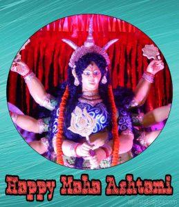 Happy maha ashtami wishes images for durga puja 2020