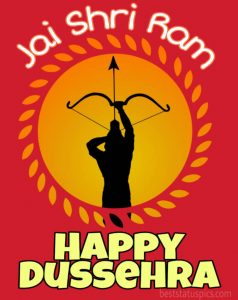 happy dussehra 2020 wishes quotes and images with jai shri ram for whatsapp DP