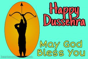 happy dussehra 2020 cartoon wishes images with jai shri ram messages