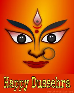 happy dussehra 2020 with maa durga images for Whatsapp