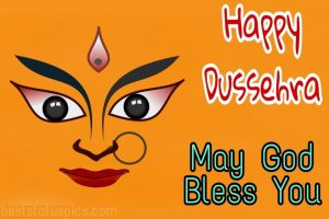 happy dussehra 2020 with goddess durga photos for Whatsapp status