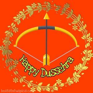 happy dussehra ka photo for whatsapp attitude status