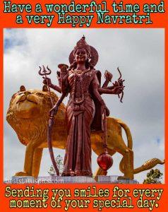 happy navratri 2020 image download for Whatsapp profile