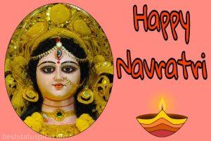 happy navratri 2020 ki pic with wishes and status