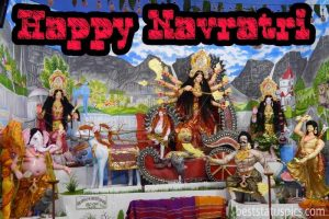 happy navratri full hd images, card and wishes for Whatsapp status