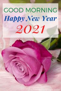 Good morning and happy new year 2021 greetings and gift cards for girlfriend and love