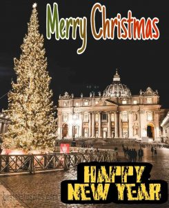 merry christmas and happy new year 2021 wishes with wallpaper and photo HD
