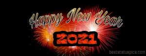 beautiful happy new year 2021 wishes images HD for facebook cover pic