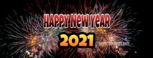 happy new year 2021 images with firework for facebook cover and story