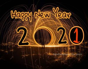 happy new year 2021 quotes picture with amazing firework download HD