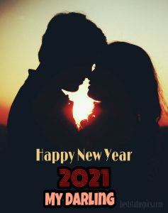 Romantic happy new year 2021 wishes images HD for love couples