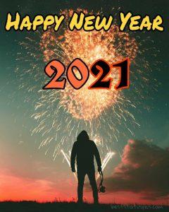 Wonderful happy new year 2021 attitude DP for Whatsapp status HD