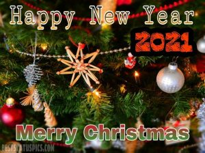 merry christmas and happy new year 2021 messages with photos HD