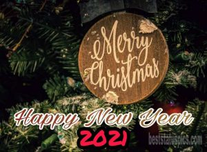 merry christmas and happy new year 2021 texts with photos HD download