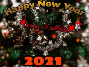 Latest merry christmas happy new year 2021 wallpaper HD for Whatsapp